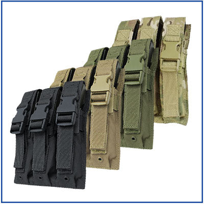 Condor Triple MP5 Magazine Pouch