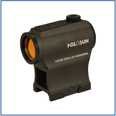 "Holosun - ""Shake Awake"" Red Dot Sight"