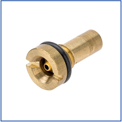WE/KJW - Reinforced Brass Gas Fill Valve - Brass