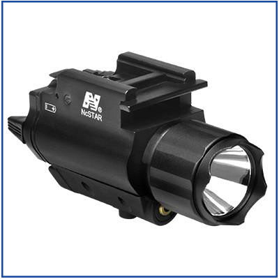 NcStar - 200L Flashlight & Green Laser - QR Mount