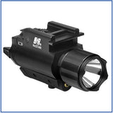 NcStar - 200L Flashlight & Red Laser - QR Mount