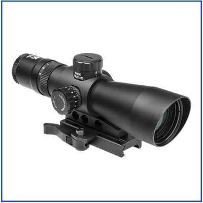 NcStar - 3-9X42 Mark III Tactical GEN II Scope - BG Dot