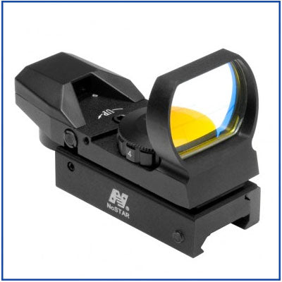 NcStar - 4 Reticle Reflex Sight - Red Dot