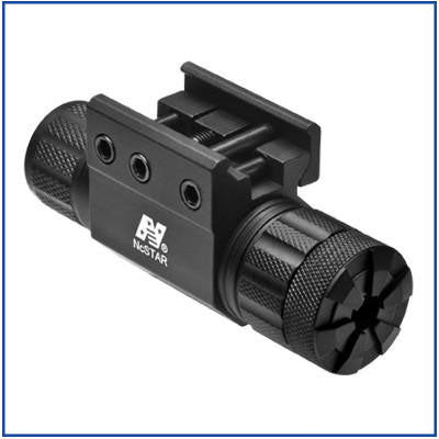 NcStar - Compact Green Laser - Weaver Mount