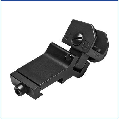 NcStar - Flip-Up Rear Sight - 45 Degree Offset