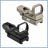 NcStar - 4 Reticle Reflex Sight - Red/Green Dot