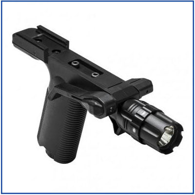 NCStar - Vertical Grip with Strobe Flashlight