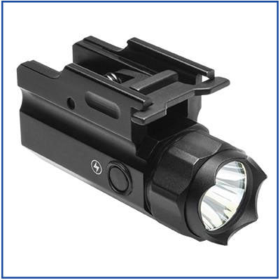 NcStar - 3W 150L LED Flashlight QR with Strobe