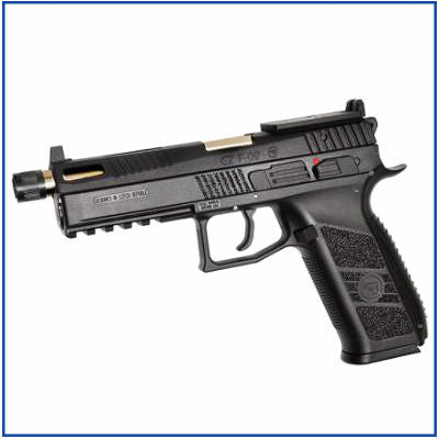 ASG CZ P-09 Duty Optic Ready Metal Slide GBB Pistol