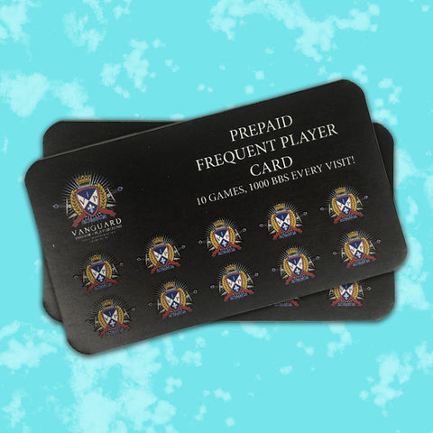 Prepaid Frequent Player Card
