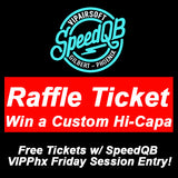SpeedQB Raffle Ticket