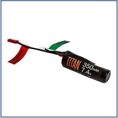 Titan Power - 7.4v 350 mAh FCU Li-Ion Battery