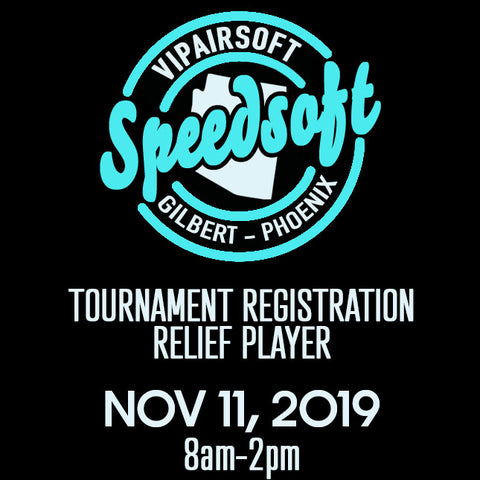 SpeedSoft Tournament Team Relief Player Registration