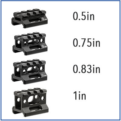UTG - Super Slim 3 Slot Rail Riser