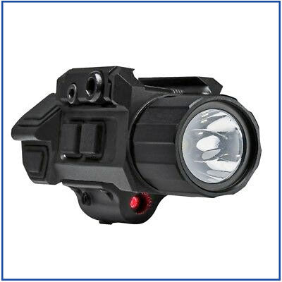 VISM - 200L LED Pistol Flashlight with Strobe/Red Laser