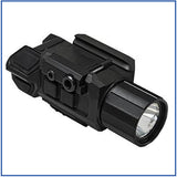 VISM - 200L LED Pistol Flashlight with Strobe/Green Laser