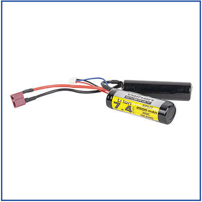 Valken 7.4v 2500 mAh Li-Ion Battery - Split