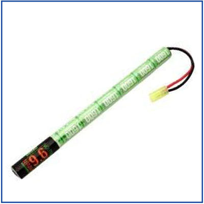 Valken 9.6v 1600mah NiMH Stick Battery