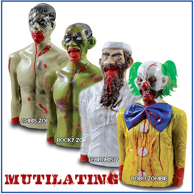 Zombie Industries Reactive Mutilating Targets