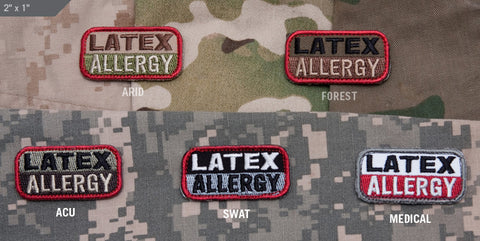 Latex Allergy Patch