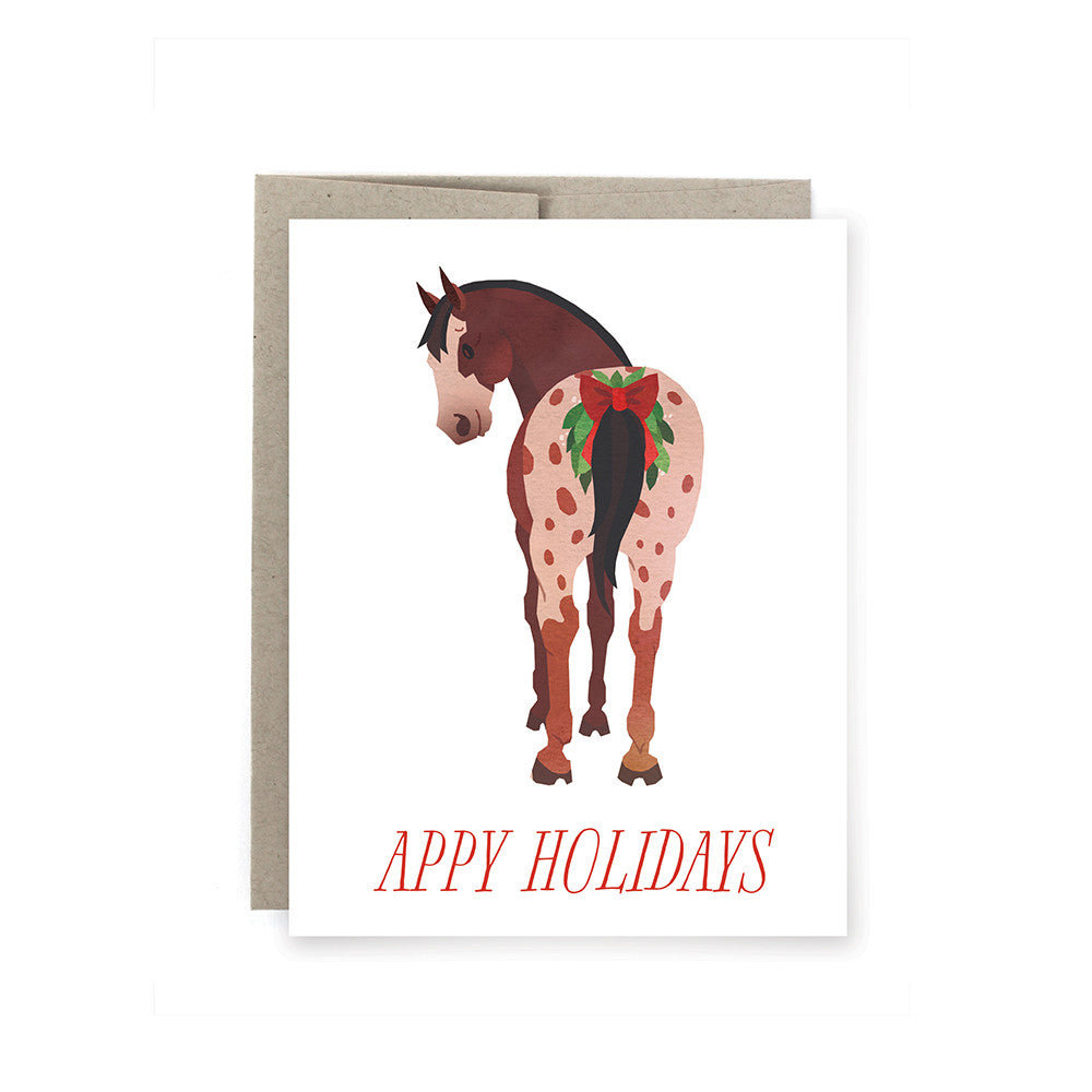 Appy Holidays Card