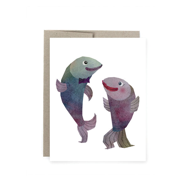 Dancing Fish Card