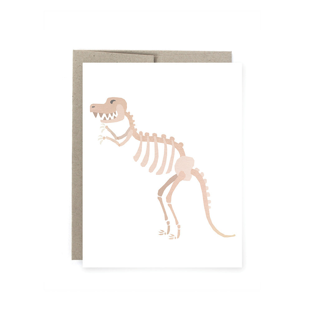 Dino Fossil Card