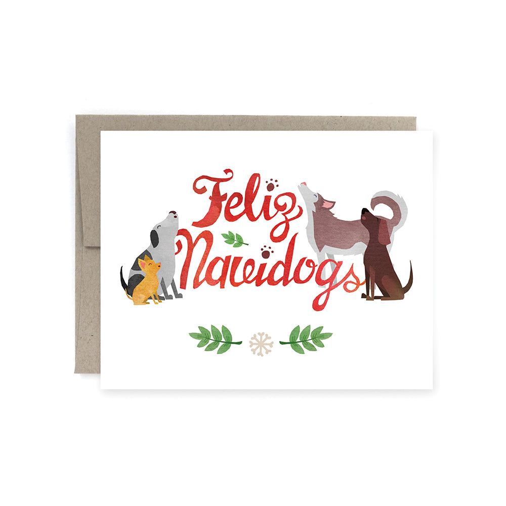 Feliz Navidogs Holiday Card