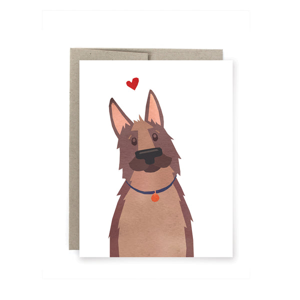 German Shepherd Card