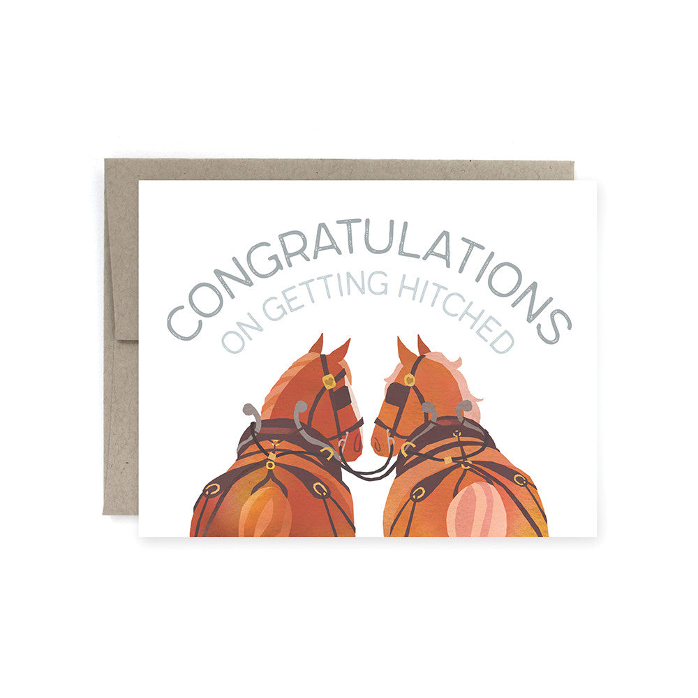Getting Hitched Card