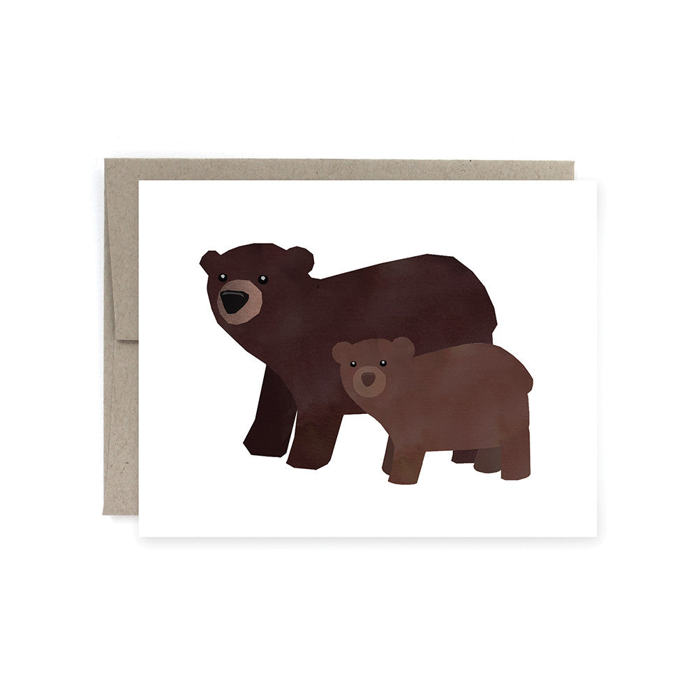 Mom & Baby Bear Card