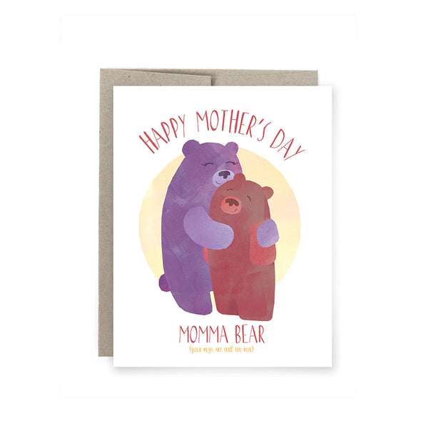 Momma Bear: Mother's Day Card