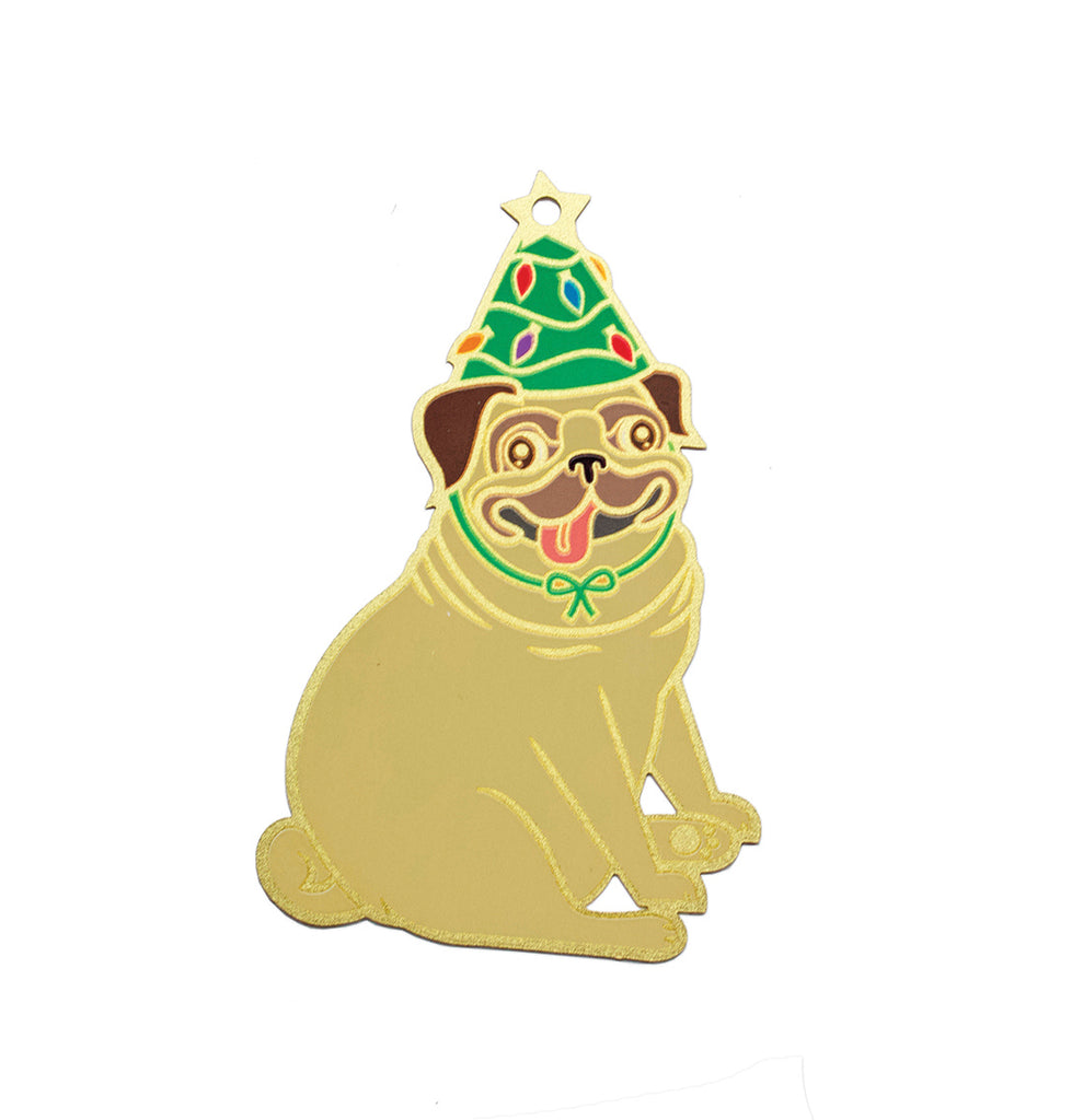 Pug Dog Ornament