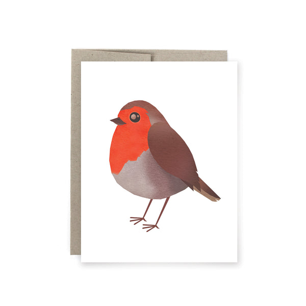 Robin Bird Card