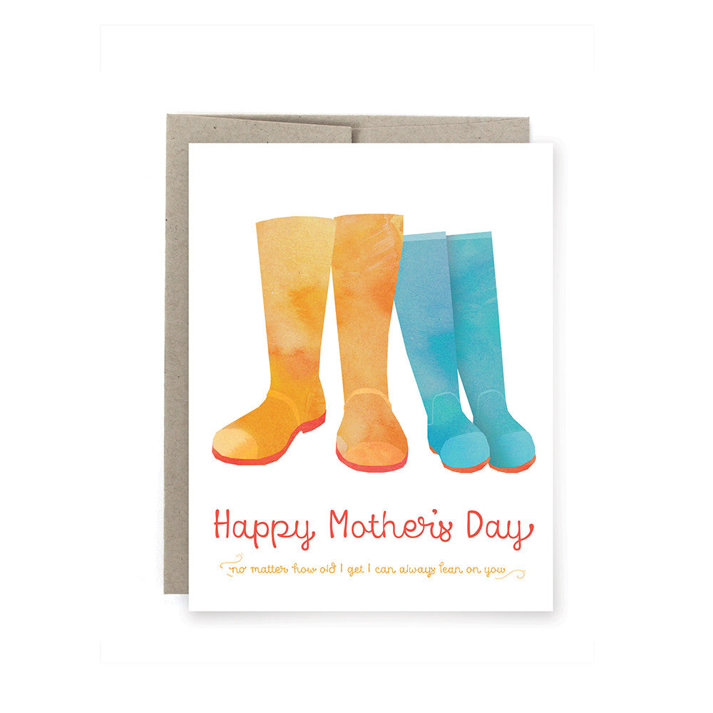 Happy Mother's Day Boots Card
