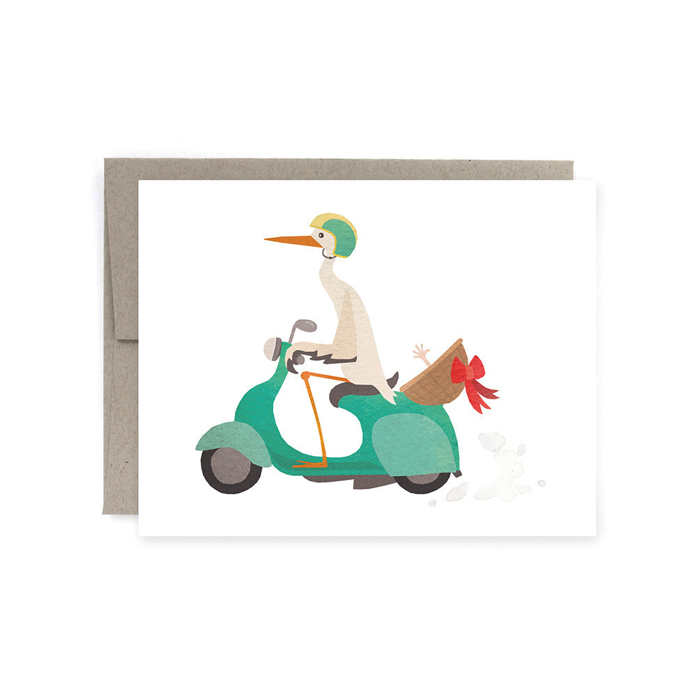Stork Delivery Card