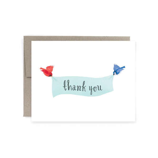 Thank you Birds Card