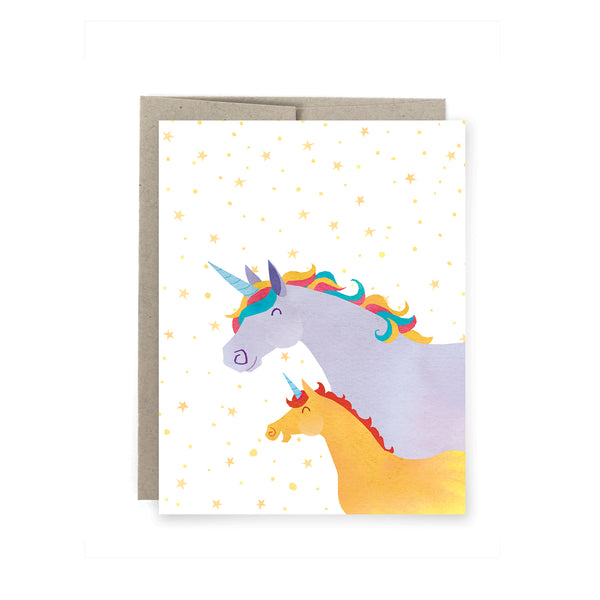 Unicorn Mom Card