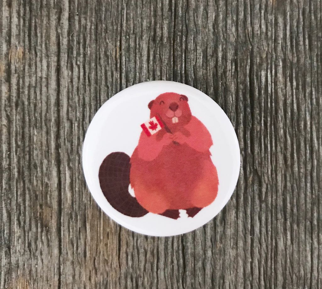 Canada Day Beaver Pin