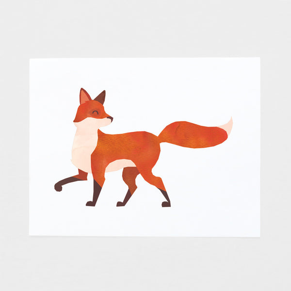 Pretty Fox Art Print