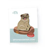 Pug Dog Enamel Pin