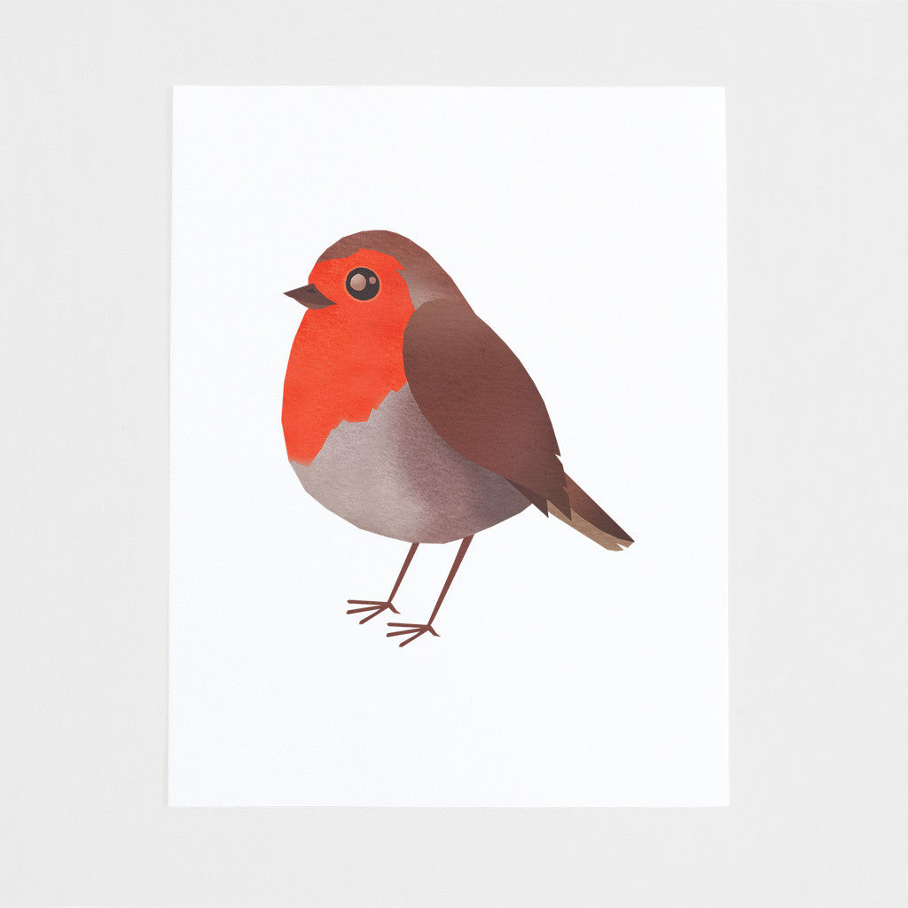 Robin Bird Art Print