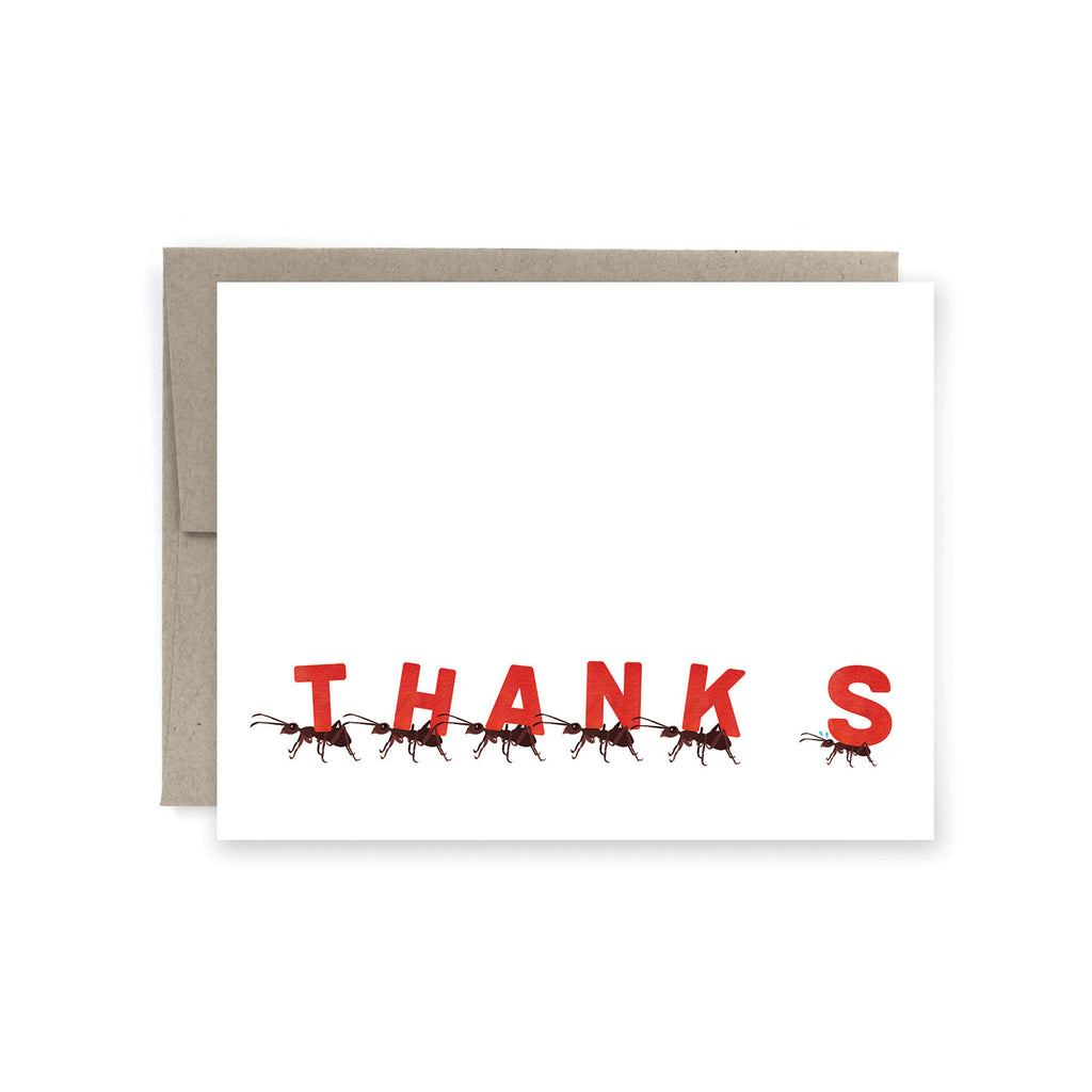 Thanks-ants Card