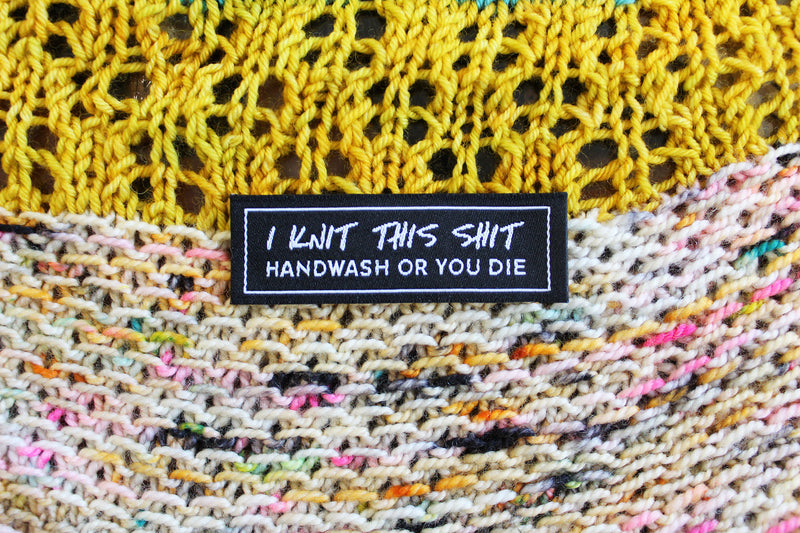 Snarky Woven Labels