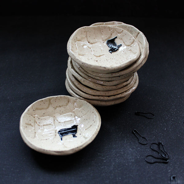 Black Sheep - Ceramic Notions Dish