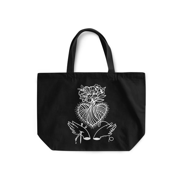 Sacred Yarn Tote Bag