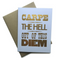 Carpe The Hell Out of The Diem Notecard
