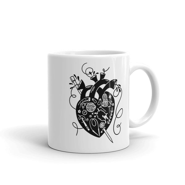 Crafty Heart Mug