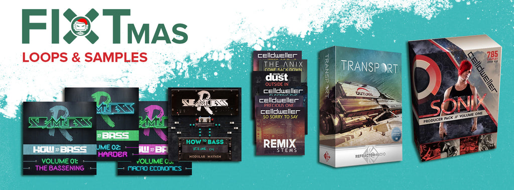 FiXTmas Mega Loops & Samples Sale