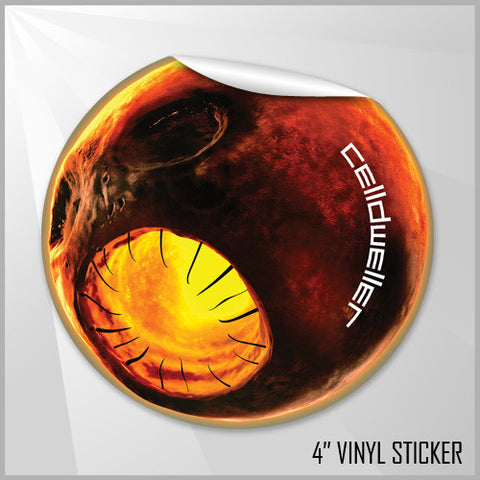 Celldweller - Scardonia 4 in. Vinyl Sticker